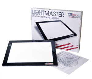 US Art Supply Lightmaster A4 light pad