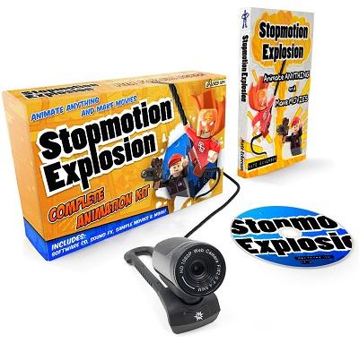 Stop Motion Explosion Kit