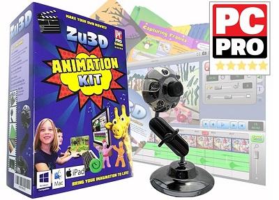 Zu3D stop motion kit
