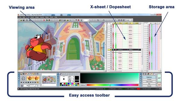 CTP Pro interface