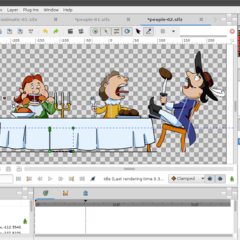 Synfig screenshot