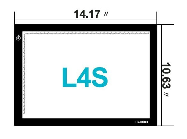 Huion L4S dimensions