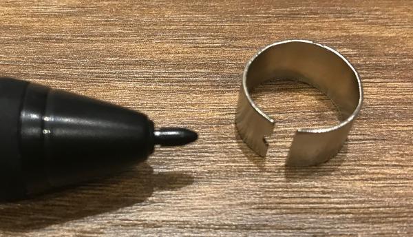 Q11K v2 pen nib clip