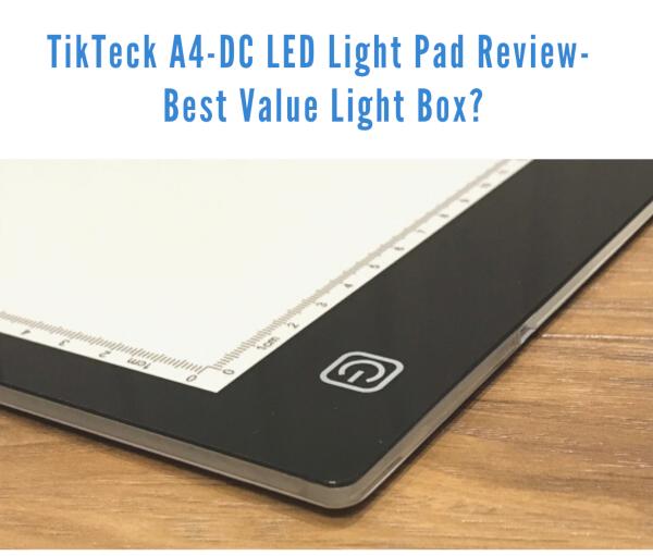 TikTeck light pad review