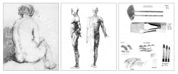 London Art College's Life Drawing course