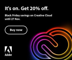 Adobe Black Friday banner